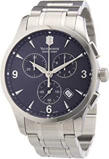 Men's 241478 Alliance Dark Gray Chronograph Dial Watch