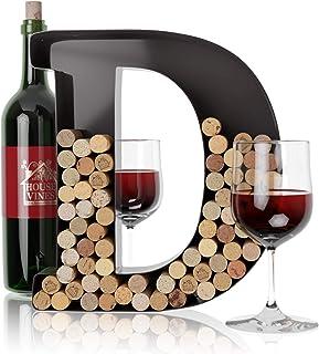 Wine Letter Cork Holder Art Wall Décor ~ Metal Letter Wine Cork Holder Monogram ~ Individual Wine Letter Cork Holders A Th...