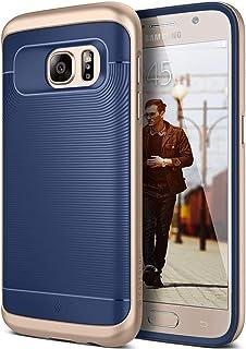 Galaxy S7 Case, Caseology [Wavelength Series] Slim Ergonomic Ripple Design [Navy Blue] [Modern Grip] for Samsung Galaxy S7