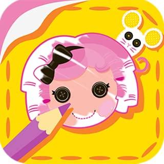 Lalaloopsy: Color & Sticker Fun!