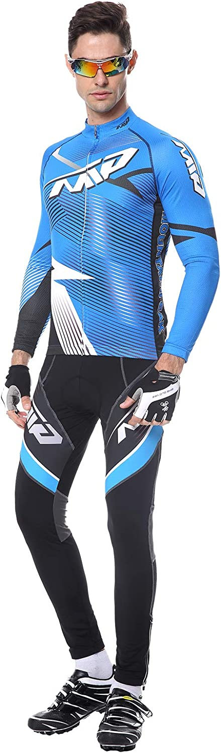 Extreme Pop Mens Tampa Mall Short Sleeve mart Cycling Padded Riding Suits Shorts