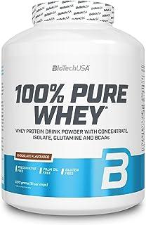 BioTech 100% Pure Whey Proteínas de Suero de Leche, Sabor Chocolate - 2270 gr