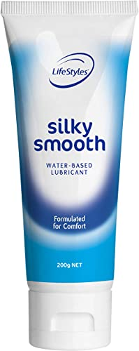 LifeStyles Silky Smooth Lubricant, 100 grams