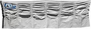 RV WindSkirt 72 inches by 120 inches Silver Skirt Panel