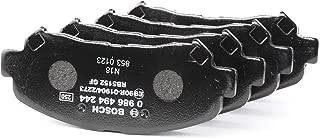 Bosch BP1503 Jeu de 4 Plaquettes de Frein