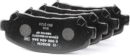 BOSCH Disc Brake Pads SET Front Rear Axle Fits NISSAN Dualis Qashqai 2007-