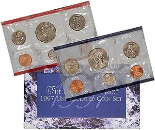 1997 P & D Mint Set Coins Uncirculated