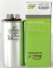 TRANE SF 35+5 MFD μF (MicroFarad) 370/440 Volts Dual Run Capacitor-Round (1-Pack) for AC Motors, Fans or AC Compressors (Replaces other Brands Capacitors)