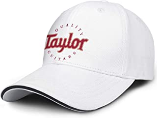 M.STRA Unisex Baseball Hats for Mens Womens Adjustable Taylor-Guitars-Logo- Caps
