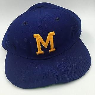 042b50f0 RARE 1975 Hank Aaron Game Used Signed Milwaukee Brewers Baseball Cap Hat -  PSA/DNA