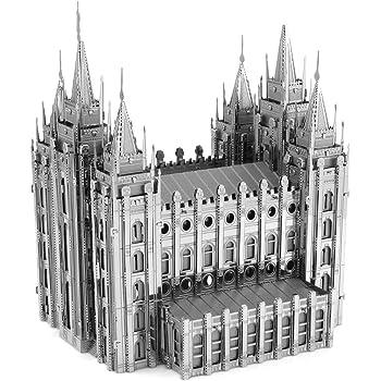 Fascinations Metal Earth ICONX Salt Lake City Temple 3D Metal Model Kit