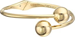 Kate Spade New York - Golden Girl Bauble Open Hinged Cuff Bracelet