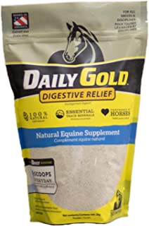 REDMOND Daily Gold Stress Relief, Natural Healing Clay for Gastric Ulcers in Horses (25 LBS)