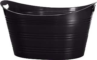 CreativeWare PTUB-BLK, Black Party Tub 8.5 Gl, 8.5 Gallon