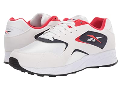 Reebok Lifestyle Torch Hex (White/Navy/Red/Black) Athletic Shoes