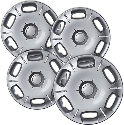 lowest 16 inch Hubcaps Best for 2008-2015 Toyota Scion XB - (Set of 4) Wheel Covers 16in Hub Caps Chrome Rim Cover high quality - Car Accessories for 16 inch Wheels - Snap On Hubcap, Auto Tire Replacement outlet sale Exterior Cap online sale