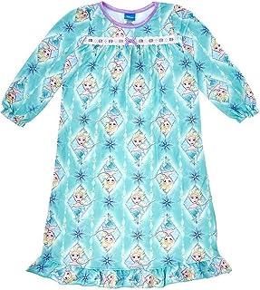 Disney Frozen Elsa Winter Snowflakes Flannel Granny Nightgown c1b5e69c3