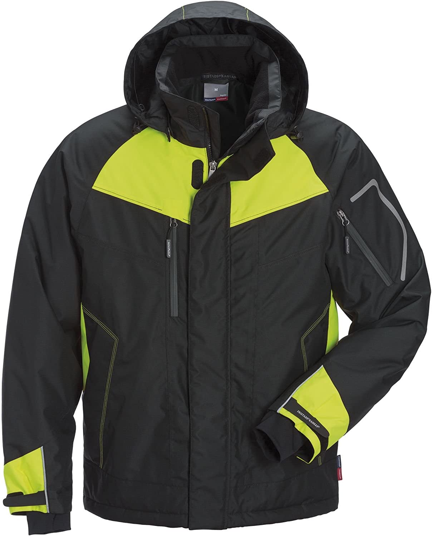 Fristads Kansas Workwear 115681 Airtech Winter Jacket Black/Yellow M
