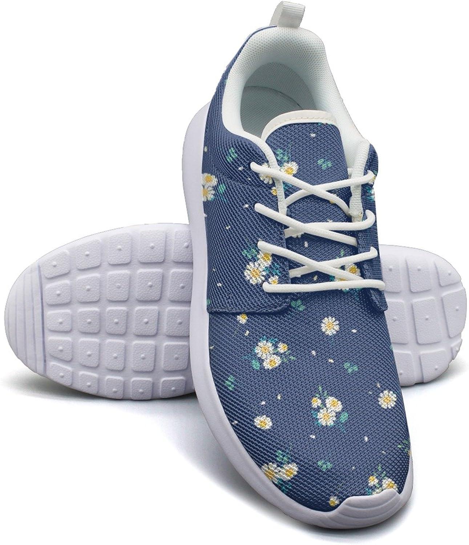 Sweet Gerbera Daisy Women's Lightweight Mesh Basketball Sneakers Retro Gym shoes