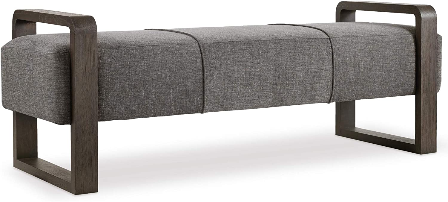 Hooker Furniture Max 79% Industry No. 1 OFF Curata Upholstered Bench Graphite Bedroom in
