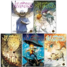 The Promised Neverland Vol (11-15): 5 Books Collection Set