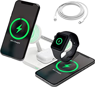 4 in 1 Wireless Charging Station - Magnetic Apple...
