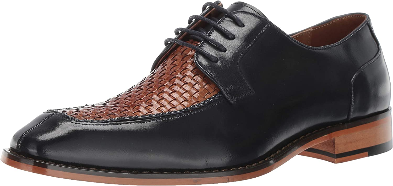 Stacy Adams Mens Winthrop Moc-Toe Lace-up Dress Oxford Oxford