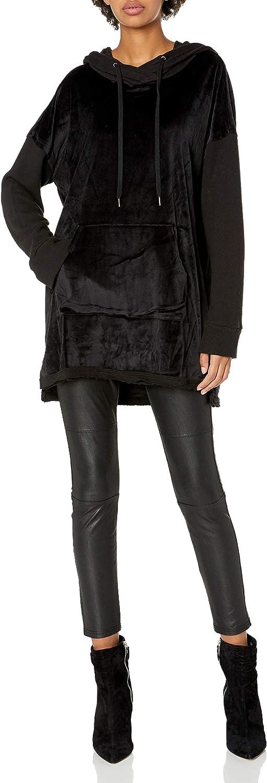 Splendid Women's Velour Hoodie Pullover