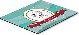 Caroline's Treasures BB1520MP Dalmatian Merry Christmas Mouse Pad, Hot Pad or Trivet, Large, Multicolor