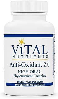 Vital Nutrients - Anti-Oxidant 2.0 Phytonutrient Complex - Specially Balanced Antioxidant Formula - 60 Capsules per Bottle
