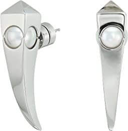 Majorica 8mm Round Enigma Dag Earrings