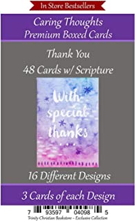 Thank You Cards Premium 48 count Christian/Religious Greeting Card Assortment