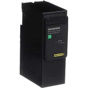Amazon Com Square D By Schneider Electric Qo2175sb Qo Surgebreaker Surge Protective Device Takes 2 Load Center Spaces Home Improvement