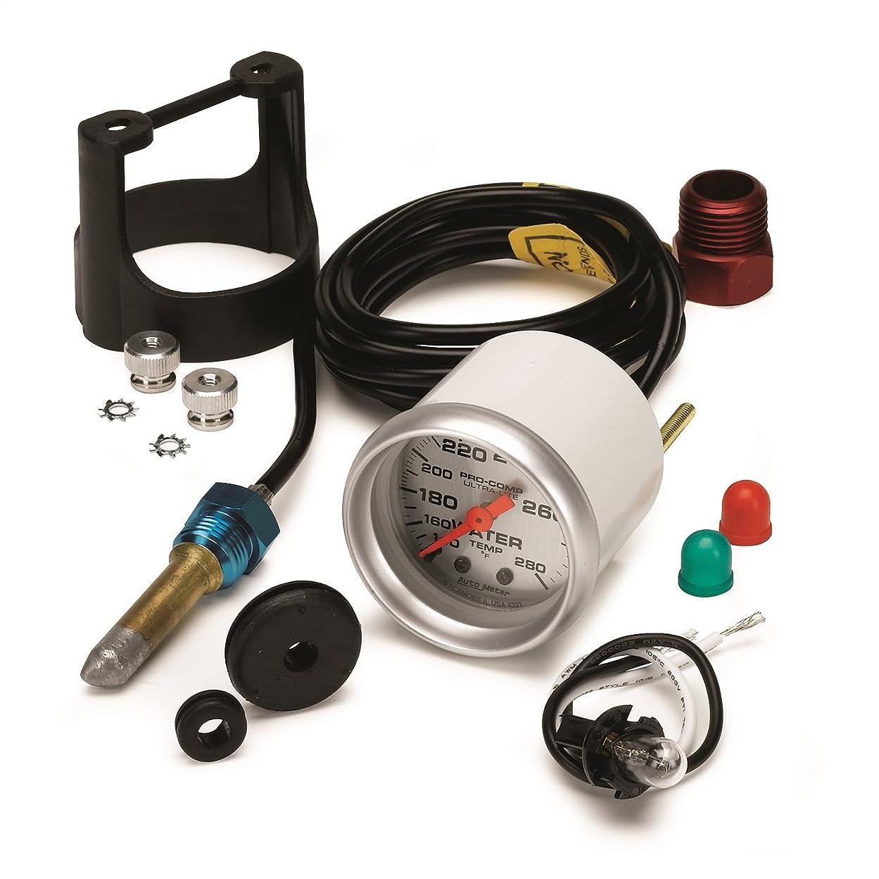 Auto Meter 4331 Ultra-Lite Mechanical Water Temperature Gauge vp42311621735