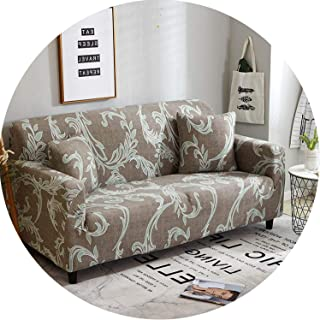 Floral Sofa Cover Slipcovers Elastic Stretch Tight Wrap Sofa Couch Cover,Color 23,1-Seater 90-140Cm