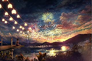 Glow in The Dark 1000-Piece Jigsaw Puzzle Puzzle (Fireworks)
