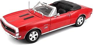مايستو مجسم سيارة شيفروليه كامارو 1967 حجم 1-18 ، تيركواز