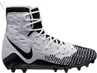 Nike New Force Savage Elite TD Football Cleats White/Black Size 12 M