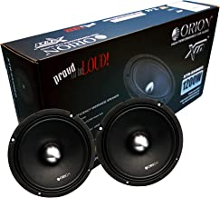 "ORION XTR XTR654 NEO 1 Pair (2 Speakers) 6.5"" NEODIMIUM HIGH Efficiency 97.9 db 1w/1m MIDRANGE CAR Speaker 300 WATT RMS 12... photo"