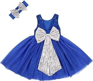 Royal Blue Infant Dress