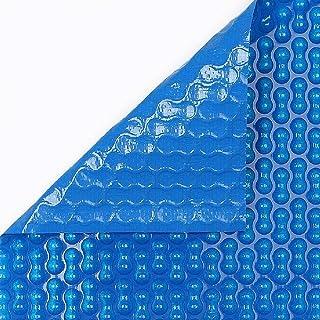INTERNATIONAL COVER POOL Cubierta Piscina Verano GeoBubble 700 micras con Refuerzo de Polietileno para Piscinas de 2x3 Metros (Sin Refuerzo).
