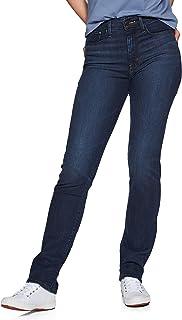 Levi's 724 High Rise Straight Womens Jeans 31W x 32L Bogota Calm