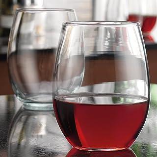 01a008a5e23 Home Essentials Home Essentials Tablesetter 21oz Stemless Wine Glass S/4,  clear glass
