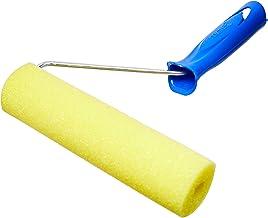 Rolo Espuma Amarela Poliéster com Suporte, Tigre 61341150, Amarelo, 15cm