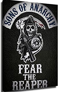 Framed Canvas Canvas Pictures For Bedroom Son Of Anarchy Wall Art Bedroom Decor Poster 18x24inch