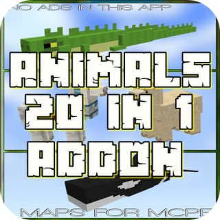 ANIMALS PACK: 20 ADDONS
