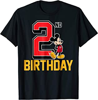 2nd birthday t shirt boy