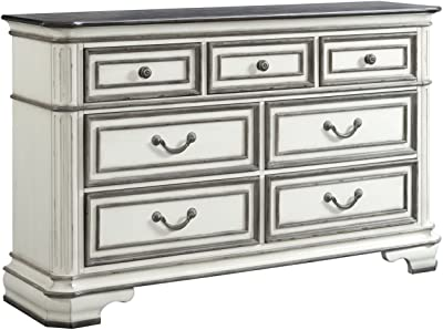 Amazon.com: sauder Harbor View Dresser en sal roble: Kitchen ...