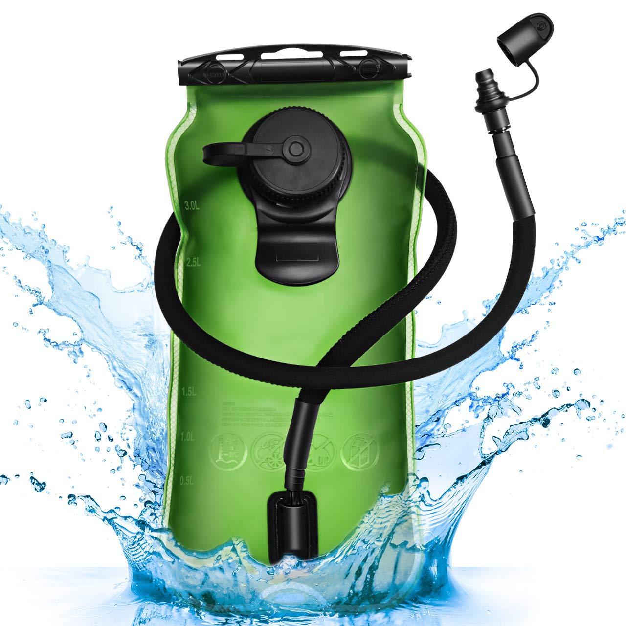 Homitt Hydration Reservoir Leakproof Self Locking