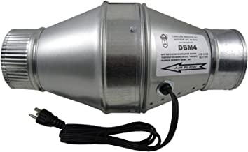 Tjernlund DBM4 Duct Booster Fan for 4